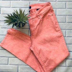 NYDJ Coral Ankle Length Jeans. Size 10
